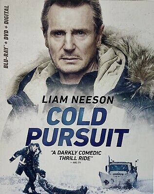 COLD PURSUIT ~ Blu-Ray + DVD + Digital *New *Factory Sealed