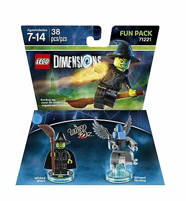 Warner Bros Lego Dimensions Wizard of Oz Witch Fun Pack - Wizard of Oz
