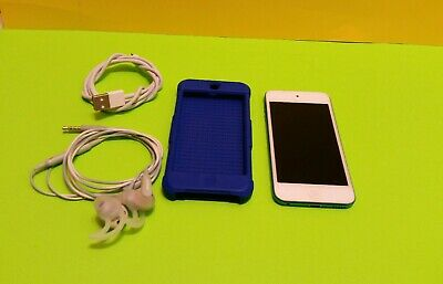 Apple iPod touch 5th Generation 16GB Blue  A1421, w usb & bose headphones & case