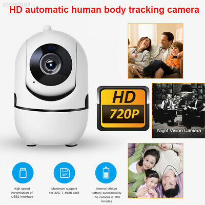 WiFi IP CCTV Camera Pan Tilt 1080P HD Wireless Security Smart Auto Tracking Home