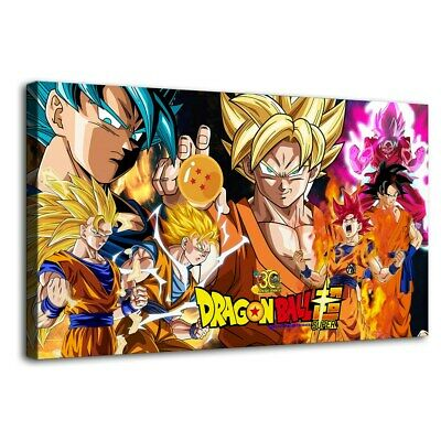"""12""""x22""""Dragon Ball super Picture HD Canvas Prints Paintings Home  Decor Wall art"""