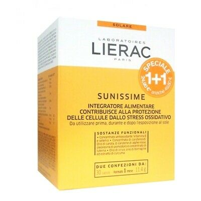 Lierac Sunissime 30cps + 30cps promo