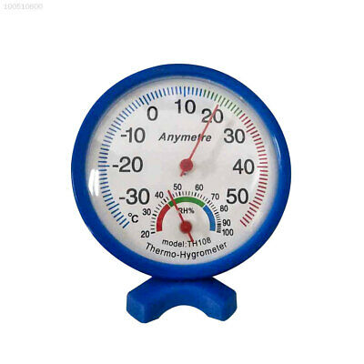 6C9B Thermometer Thermometer Hygrometer Temperature Meter Blue