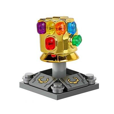 Avengers Infinity War Thanos Infinity Gauntlet Building Blocks Marvel Toy New