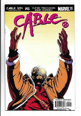 Cable #104 : Very Fine/Near Mint 9.0
