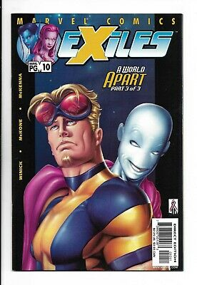 Exiles #10 (Vol 1) : Very Fine/Near Mint 9.0 : Reed Richards (Earth 5692)