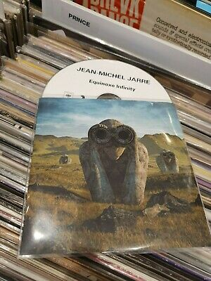 jean michel jarre cd promo equinoxe infinity  france