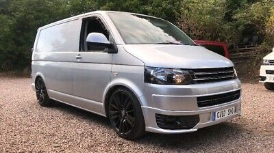Volkswagen transporter t5 day loads of new parts van/camper carpeted insulated