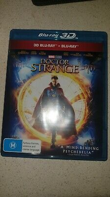 Doctor Strange 3D And 2D Blu Ray