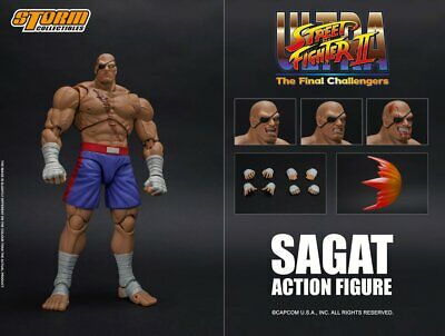 (pre order, will ship at AUGUST) STORM COLLECTIBLES STREET FIGHTER : SAGAT 1/12