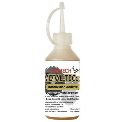 NEW! Metal-Tec10 Gearbox and Transmission Anti-Friction Additive 100ml bottle