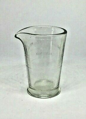 Kodak Glass Vintage Graduated Pitcher For Darkroom Film Developing