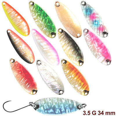Smith Pure Shell II 9.5 g 50 mm various colors trout spoon