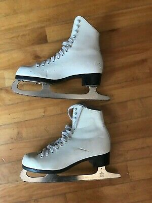 CCM Lynn Nightingale GIRL'S FIGURE SKATES  US Size 5