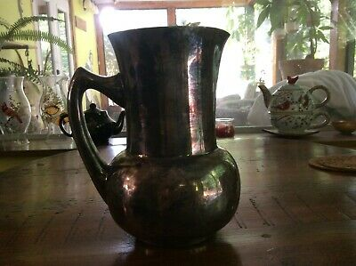Water Jug made by The Regal Silver Plate Co. for NSW or Victoria  Railways 1930