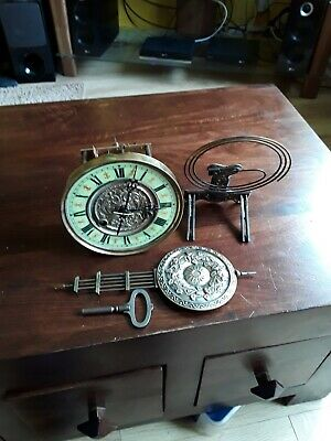 Vienna Wall Clock Movement Complete As Shown Parts Only