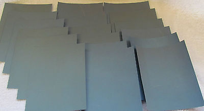 "Sandpaper Wet Dry 18 pc, 3"" X 5 1/2""  Sheets  6 ea. 3000, 5000, 7000 grit"