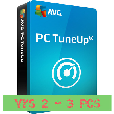 AVG PC TuneUp 2019 - 3 PC - 2 Year -  Worldwide - Download - Licence Key
