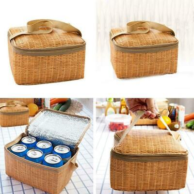 1pc Thermal Cooler Insulated Lunch Box Tote Storage Picnic Waterproof Bag-a R3G5