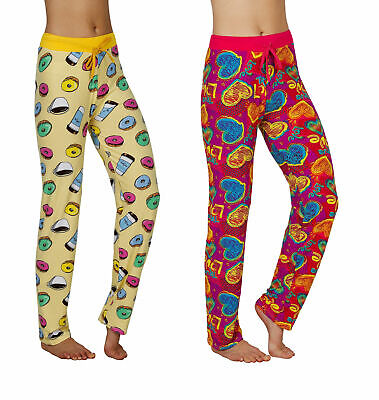 Women's Silky Soft Lounge Pajama Pants- 2 Pack