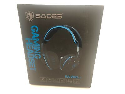 Sades Sa-708 GT Universal Gaming Wired Headset With Microphone - Black