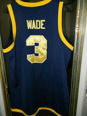 new style ebb7c 6c92a Nike Dwyane Wade  3 Marquette Golden Eagles College Basketball Jersey Size  Xl