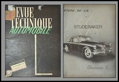 Revue Technique Automobile - Studebaker V8 - N°96 - 1954
