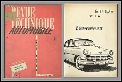 Revue Technique Automobile - Chevrolet/Powerglide - N°103 - 1954