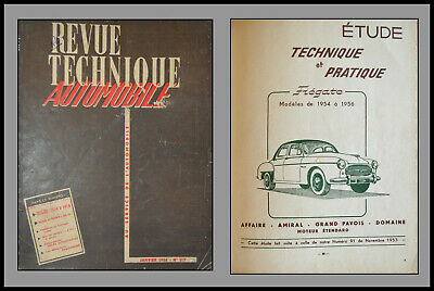 Revue Technique Automobile - Fregate - N°117 - 1956
