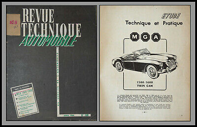 Revue Technique Automobile - Mg6 1500/1600 - N°168 - 1960