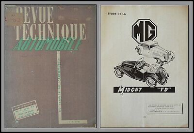 Revue Technique Automobile - M.g. Type Td - N°62 - 1951