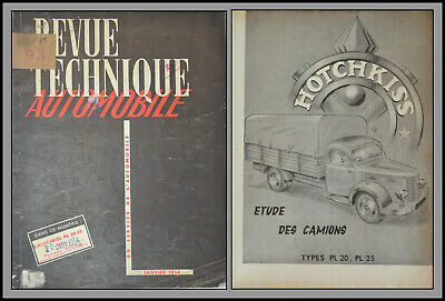 Revue Technique Automobile - Hotchkiss - N°93 - 1954