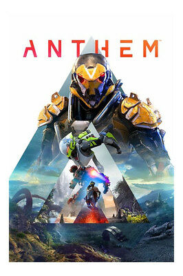 Anthem - Standard Edition (Sony PlayStation 4, 2019) with steel Case