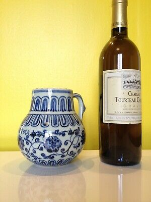 porcelaine chine pichet Chinese Tankard danbaguan dynastie Ming marque Xuande
