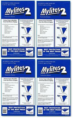 200 Mylites2 CURRENT (Modern) 2 mil Mylar Comic Sleeve Bags  by E. Gerber 700M2