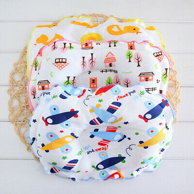 Anti-rollover Soft Infant Bedding Baby Pillow Neck Protection Toddler Cushion