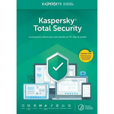 kaspersky total security 2019 1 Device 1 Year Multi device Uk & Europe