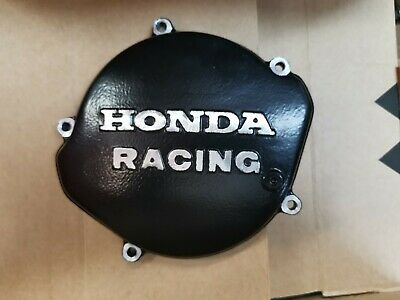 Honda Racing CR125 CR 125 Clutch Inspection Cover Sand Cast 1987 - 2001 Black