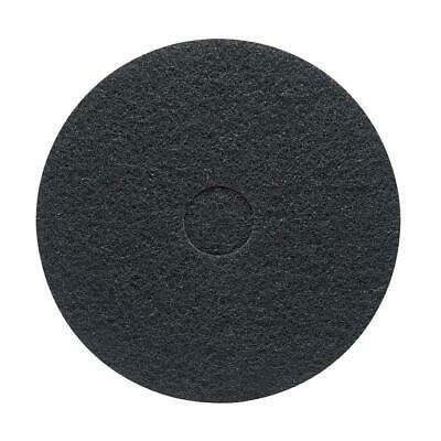 "20"" Black Stripping Pad for Floor Buffer - 5 Pack"