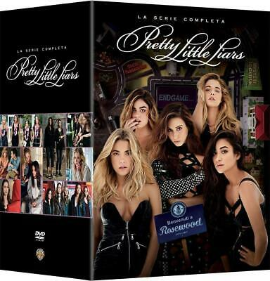 COFANETTO 36 DVD PRETTY LITTLE LIARS rosewood stagioni 1-7 serie completa