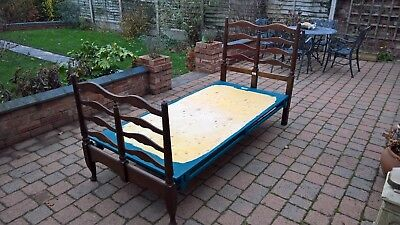Antique Heal & Son Single Bed with Base