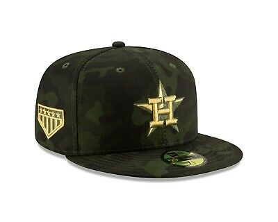 Houston Astros New Era 2019 MLB Armed Forces Day On-Field 59FIFTY Fitted Hat