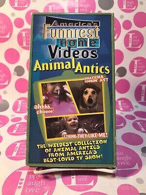America's Funniest Home Videos (Animal Antics) Vhs