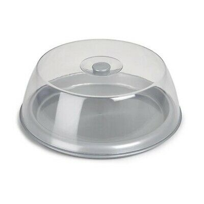 Round Plastic Cake Clear Box Container Storage Cake Carrier with Lid Cover, 30cm
