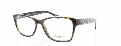 56e031222b64 NEW COACH HC 6068 5311 Tokyo Tortoise/Black Authentic Eyeglasses ...