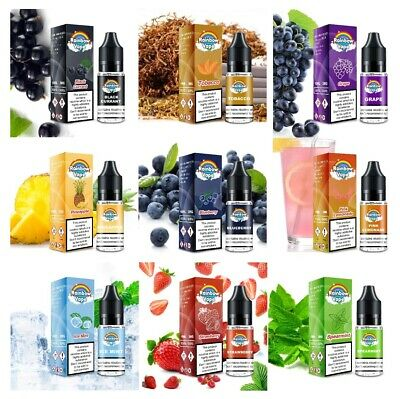RAINBOW Vapes American Premium E-Liquid Vape Juice 10ml Bottles Many Flavours