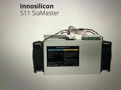 168 Hour SIACOIN Sia Classic mining contract with INNOSILICON S11 at 4.3 TH/s