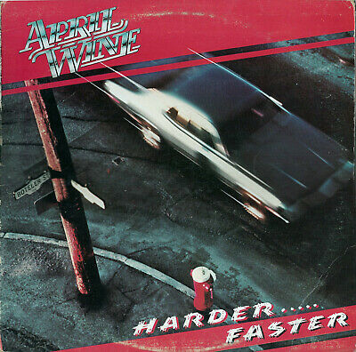 APRIL WINE  Harder...Faster  1979  Aquarius   Vinyl LP