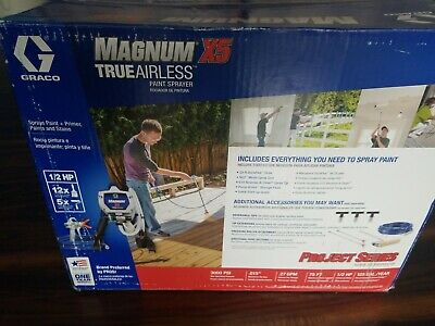 ⭐New in Box - Sealed⭐ Graco Magnum X5 Airless Paint Sprayer 262800