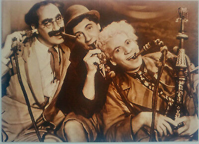 The Marx Brothers with Groucho Harpo Chico Photo Postcard Ludlow Sales Fotocard
